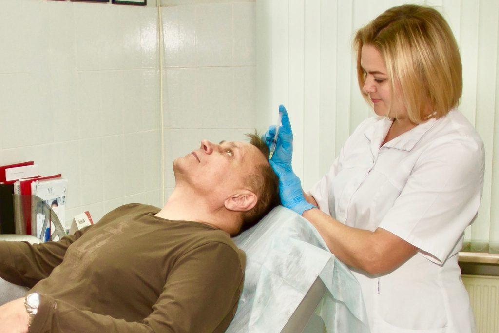 мезотерапия при выпадении волос